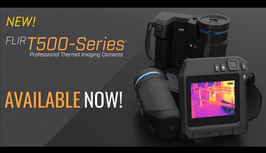 New FLIR T500 Series Thermal Imaging Camera - NOW AVAILABLE!